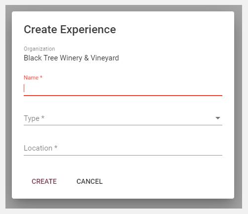 createexperience-poup